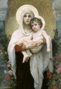 Madonna of the Roses by Bouguereau
